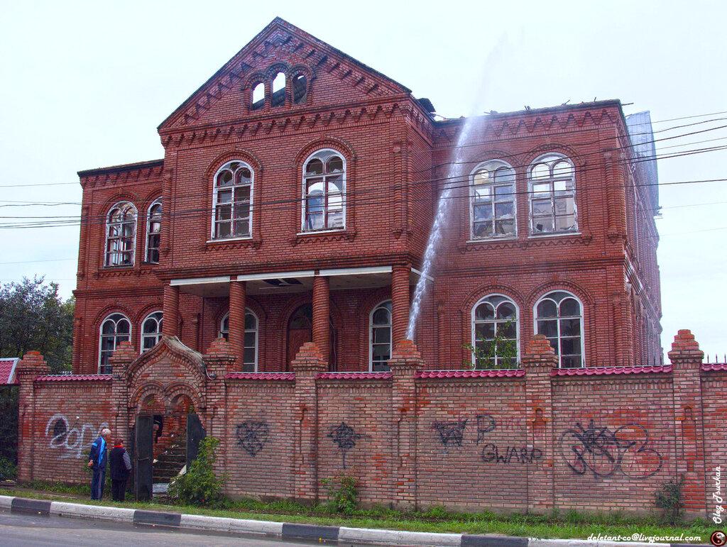 Дома архитектора тарасова фото особенность