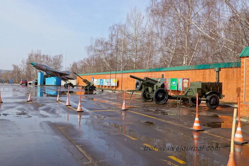БМ-21, МиГ-21, Д-48, ЗиС-3, М-30, КП-125,  РОСТО Кузьминки, Москва