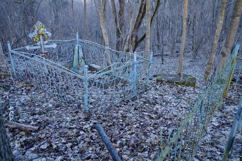 Старое кладбище, Марково, Рузский район