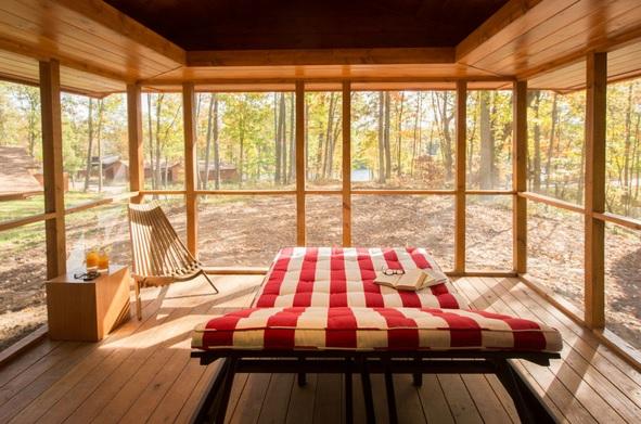 Маленький дом из дерева