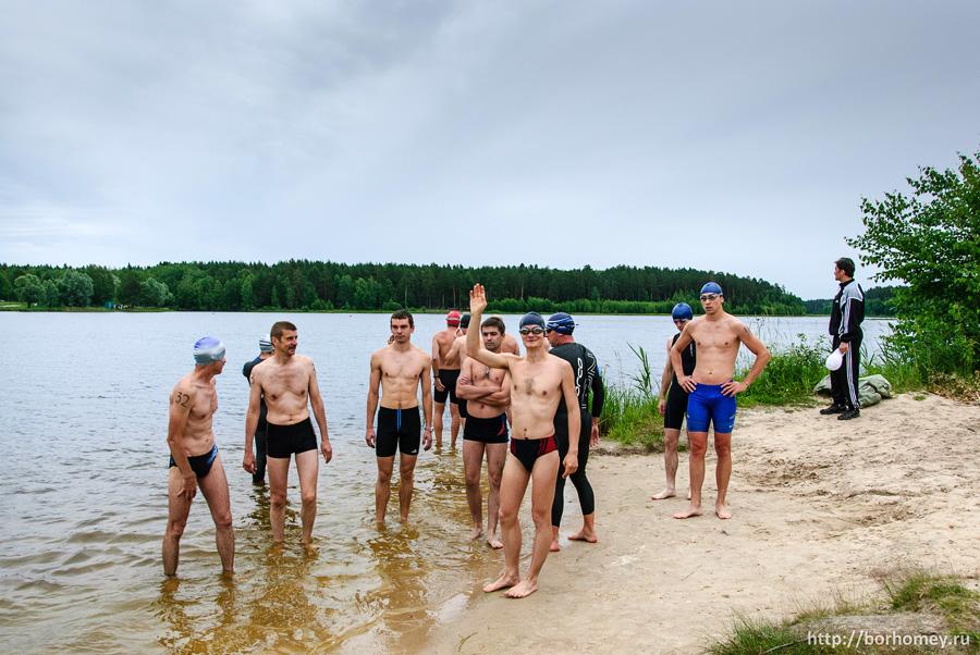 саровский триатлон 2014 плавание