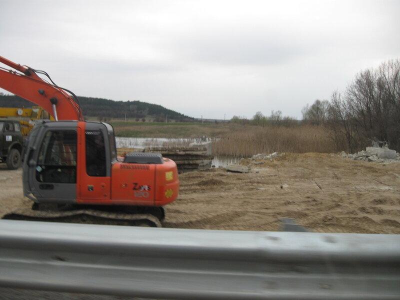 М4 ДОН 887 км мост Тарасовский Ростовская область ремонт