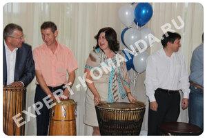 2013-08-31 Барабанный тренинг - интереснейшее дополнение корпоратива