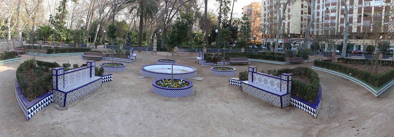 Парк Рибалта, Кастельон де ла Плана, Parque Ribalta, panorama