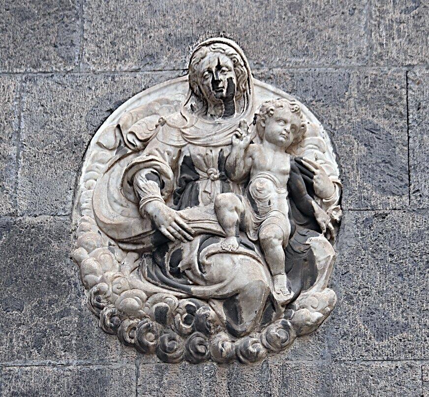 Naples. Church of Santa Maria la Nova (Chiesa di Santa Maria la Nova)