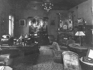 Кабинет в особняке И.Д.Бонштедта.