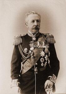 Арсеньев Дмитрий Сергеевич (1832-1915) - генерал-адъютант, русский адмирал, участник среднеазиатских походов, член Государственного Совета Российской империи ( с 1901 г.). Портрет.