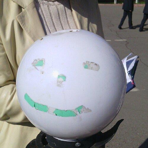 плафон зеленый человечек старобельск