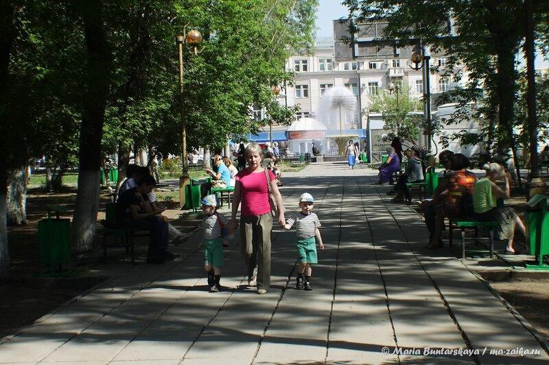 Прогулка по городу, Саратов, 14 мая 2014 года