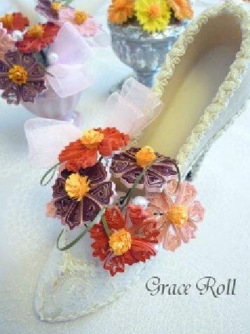 Свадебный бумажный декор