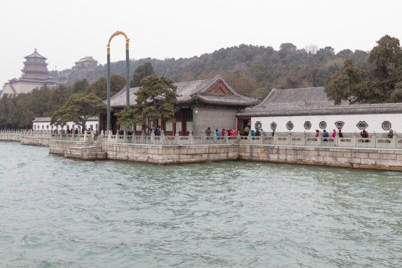 Зал радости и долголетия, парк Ихэюань, Летний дворец, Пекин