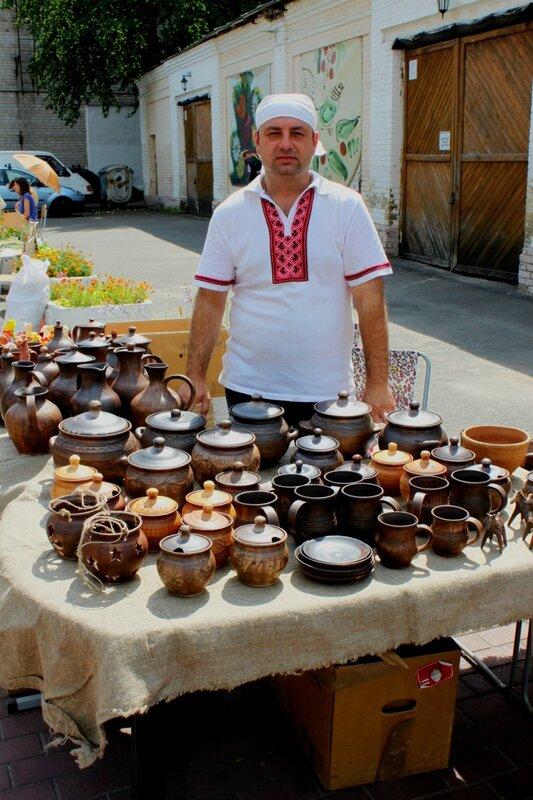 Украинские гончарные изделия