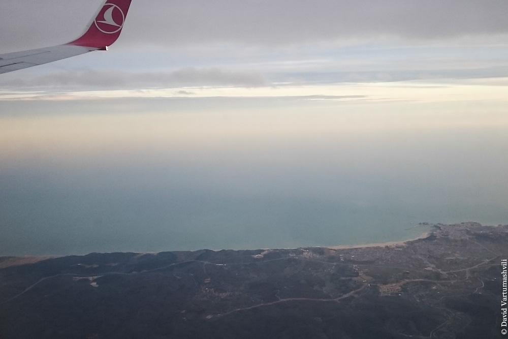 Конго ДР, перелет в Киншасу, побережье Турции