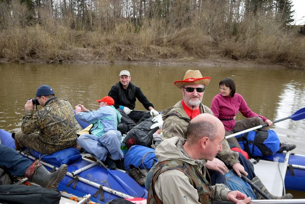 Сплав по реке Немда – 2014 год
