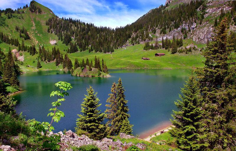лето в горах