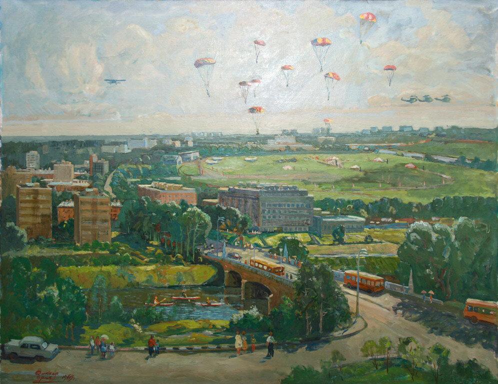 Орлов Виктор. В районе Тушино. 1969 год