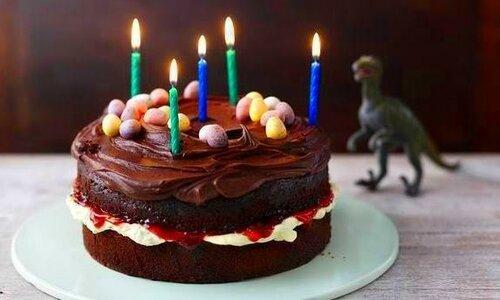 Торт «Обама», такой же как и «Наполеон», только шоколадный и без яиц.