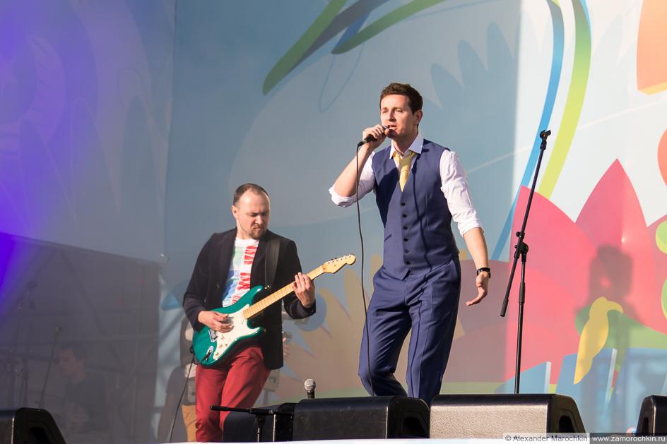 Группа October Sun на фестивале FIFA Fan Fest в Саранске