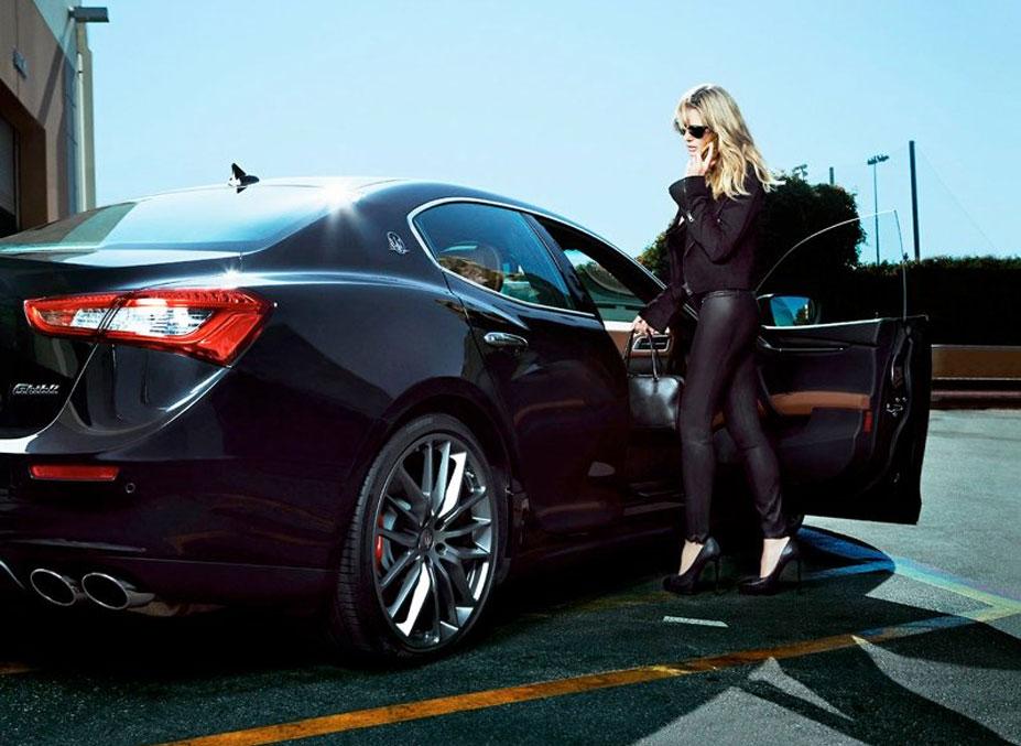 Heidi Klum / Хайди Клум в рекламе автомобилей Maserati 2014