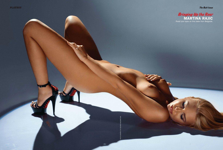 Лучшие попы журнала Playboy Special Collector's Edition   The Butt Issue january 2014 - Martina Rajic (Сербия)