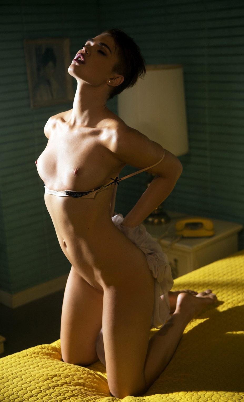 Девушка месяца Бритт Линн / Britt Linn - Playboy USA march 2014 Playmate