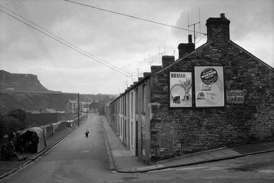 South Wales valleys. 1961