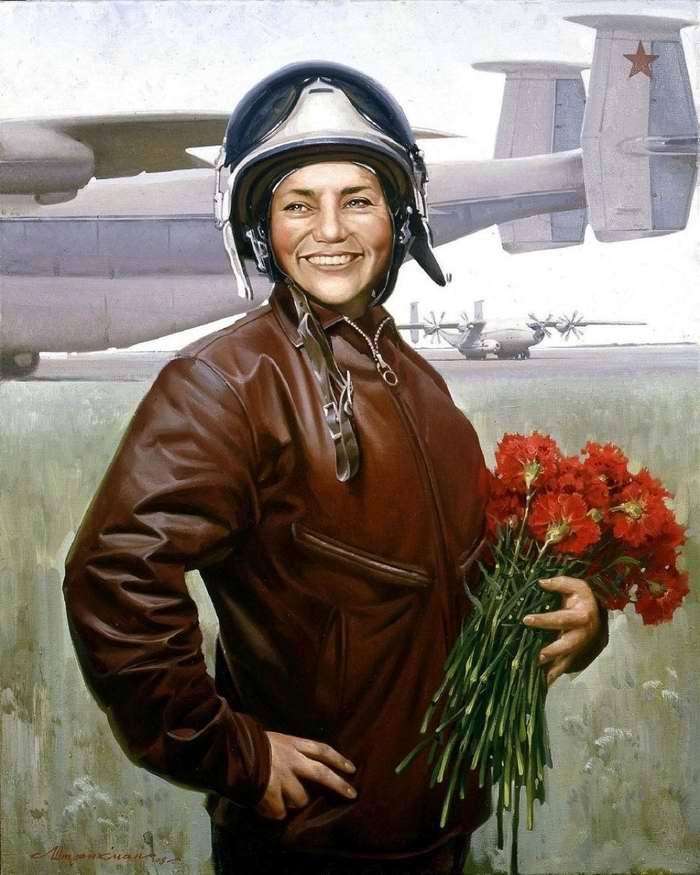 Портрет Марины Попович (Леонид Штрикман, 2008 год)