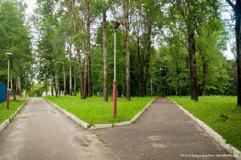 Брянск. Парк 1000 лет Брянску / Июль 2013 год