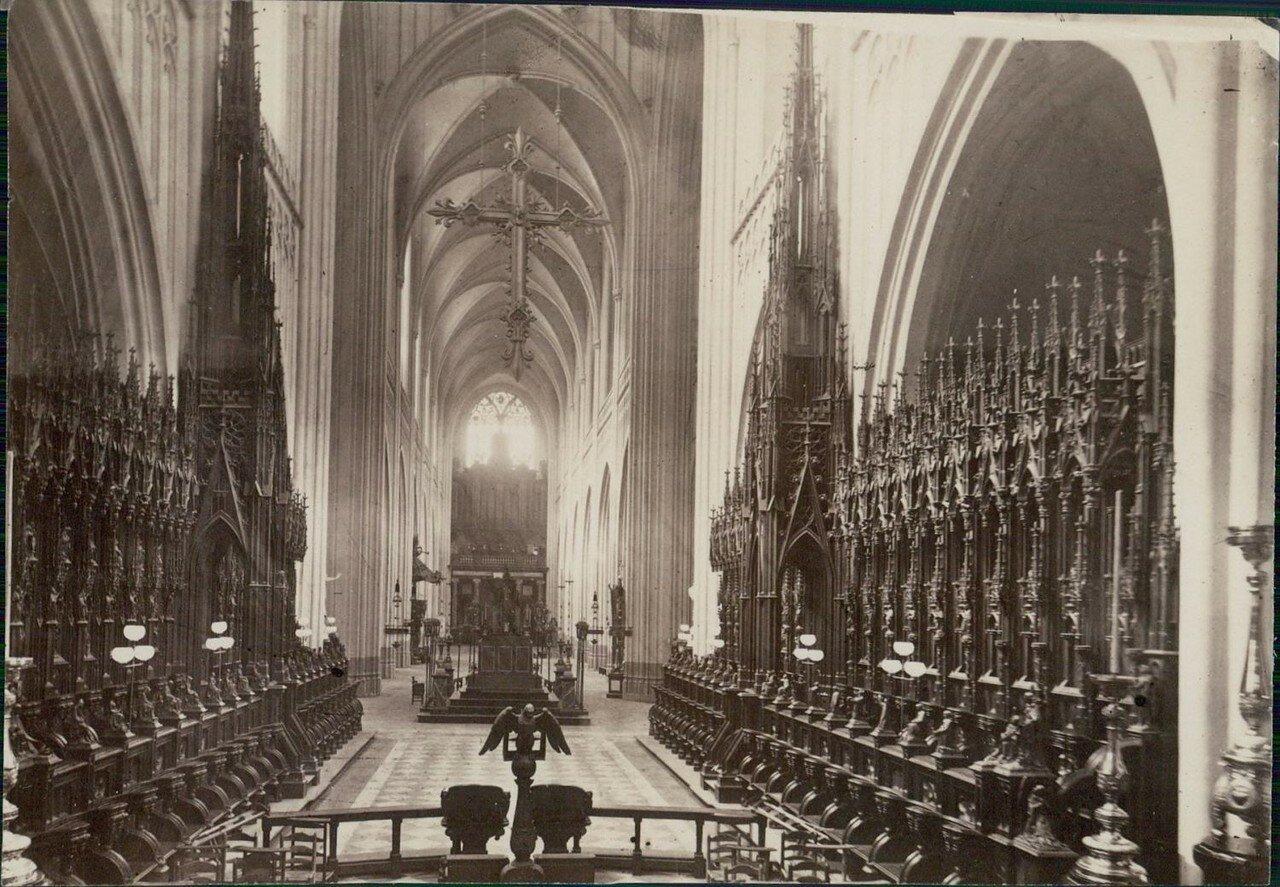 1880-е. Интерьер собора