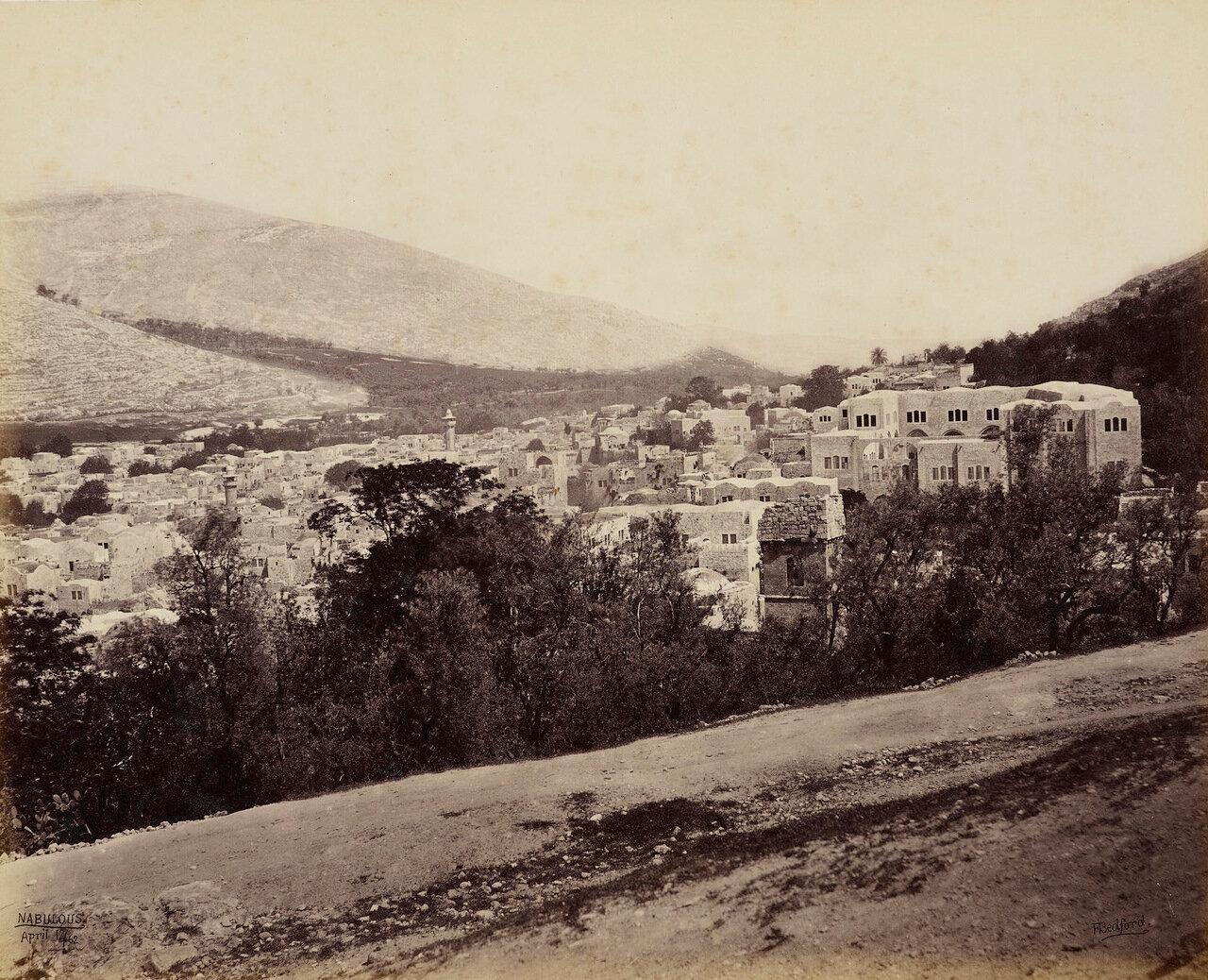 12 апреля 1862. Наблус