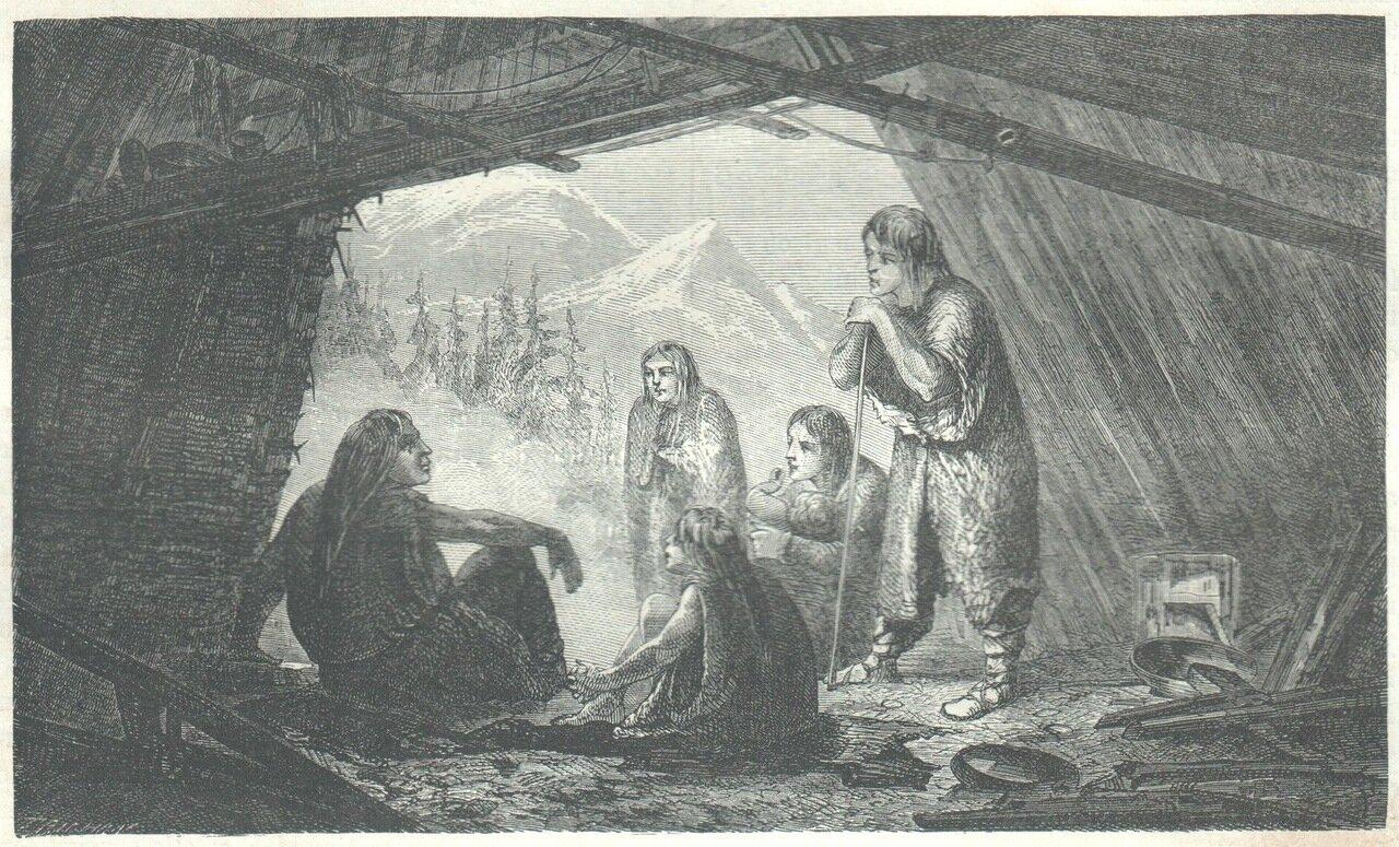 1862. Сибирь. Хижина остяков
