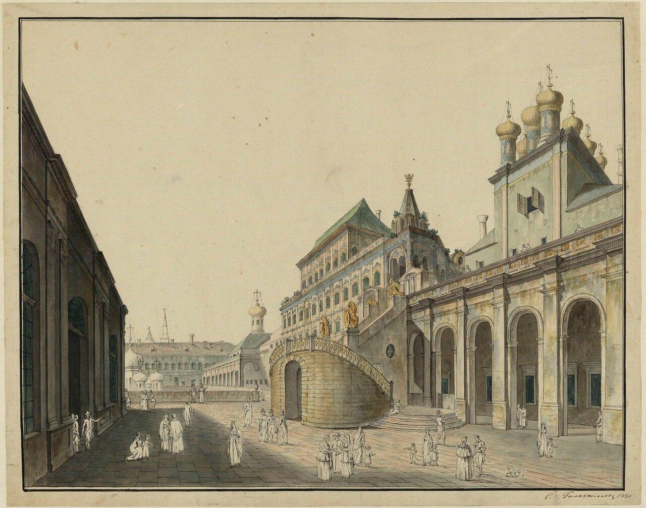 Вид на Боярскую площадку со стороны двора