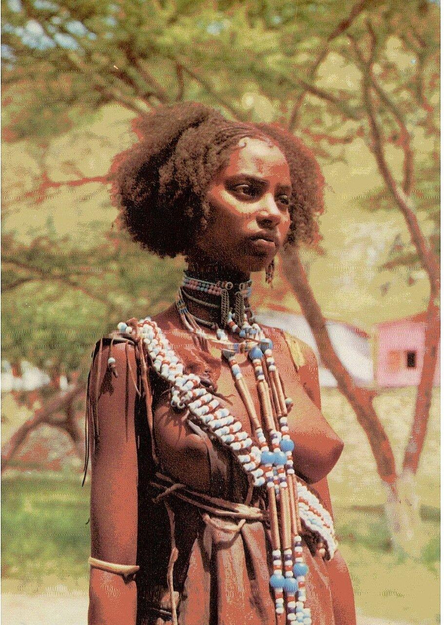 Девушка из племени галла, Эфиопия