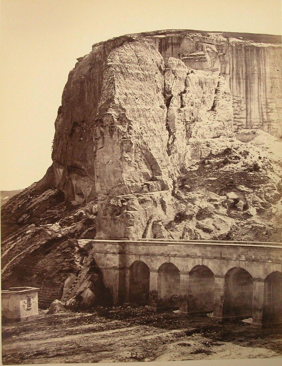 63. Инкерман. Мост в ущелье близ каменоломни