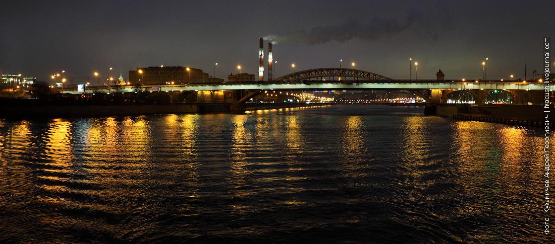 Бережковский и Лужнецкий (Новый Краснолужский) мосты