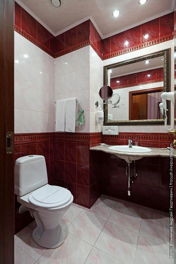 отель волжская ривьера в угличе стандартный номер ванная