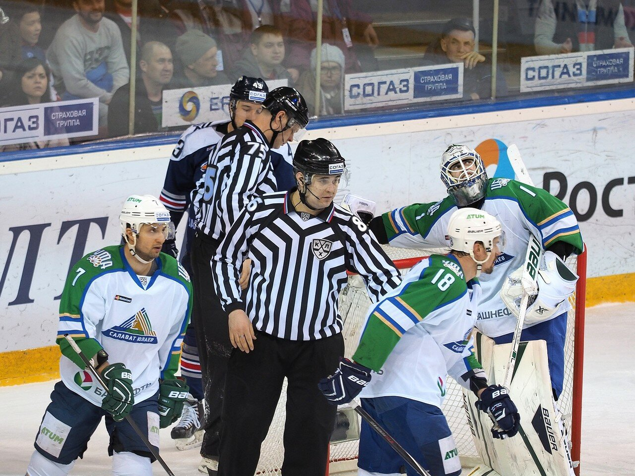 132Плей-офф 2016 Восток Финал Металлург - Салават Юлаев 23.03.2016