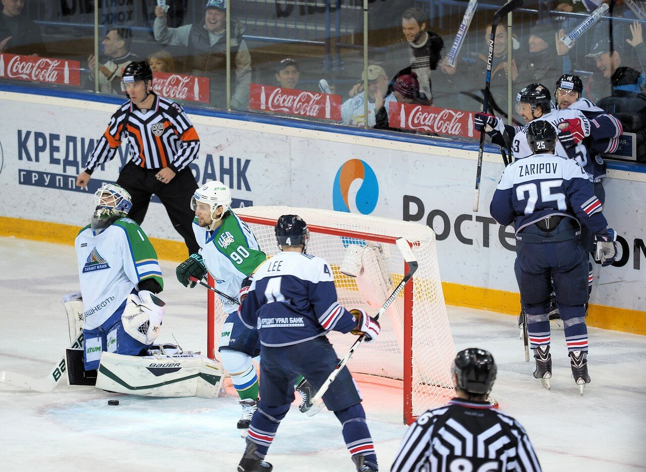 24Плей-офф 2016 Восток Финал Металлург - Салават Юлаев 25.03.2016