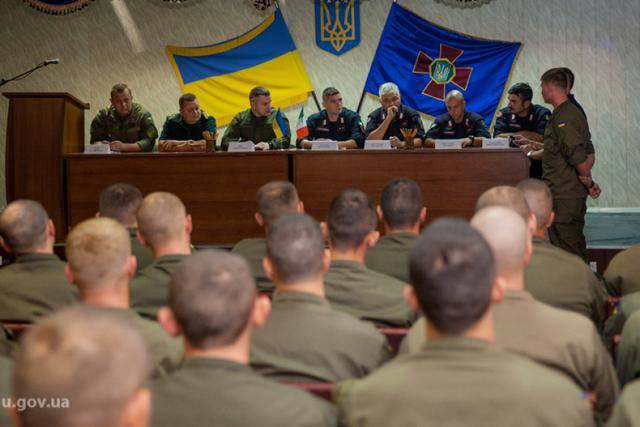 Карабинеры Италии начали подготовку украинских нацгвардейцев. ФОТОрепортаж