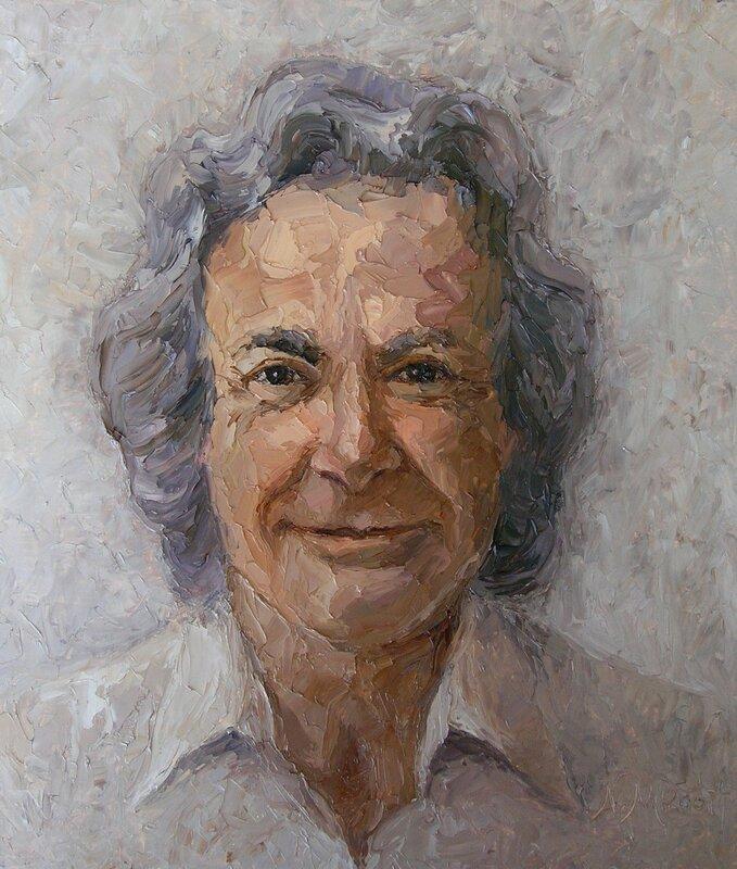 Портрет Ричарда Фейнмана. Художник Натали Меерсон. 2007 г.jpg