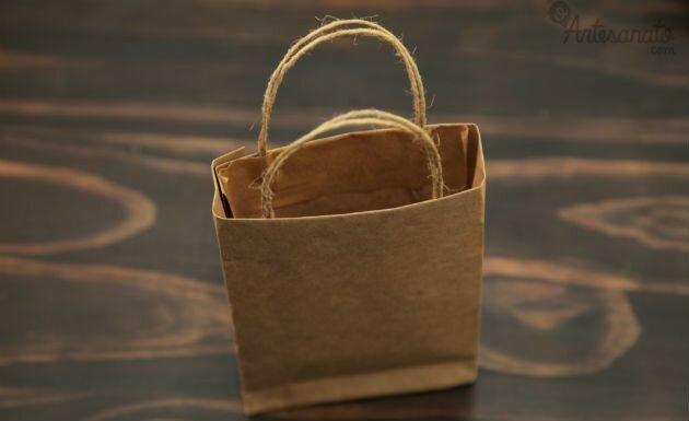 Как сделать подарочный пакет своими руками