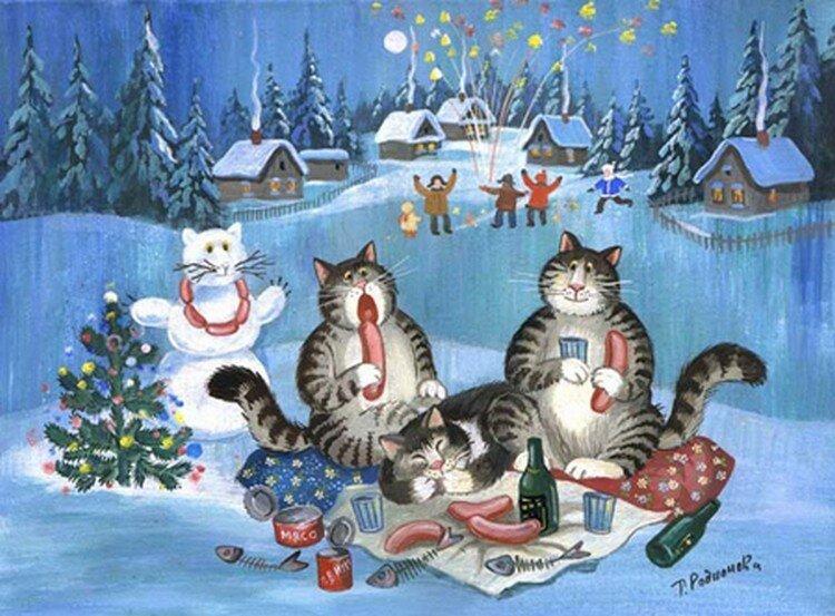 Новогодние открытки из советских новогодних виде бесцветного