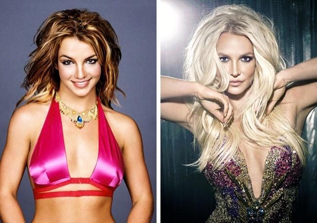 © Britney Spears / Tumblr  © last.fm  2001— 2016  Кристина Агилера