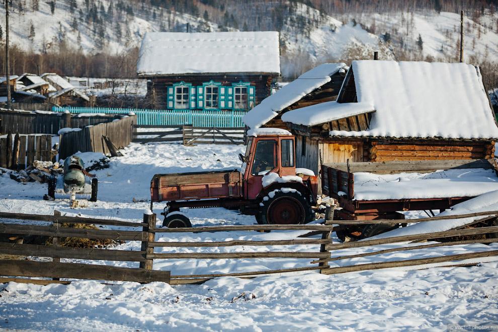 18. Котельной и центрального отопления в поселке нет. Основное топливо для обогрева жилья — дро