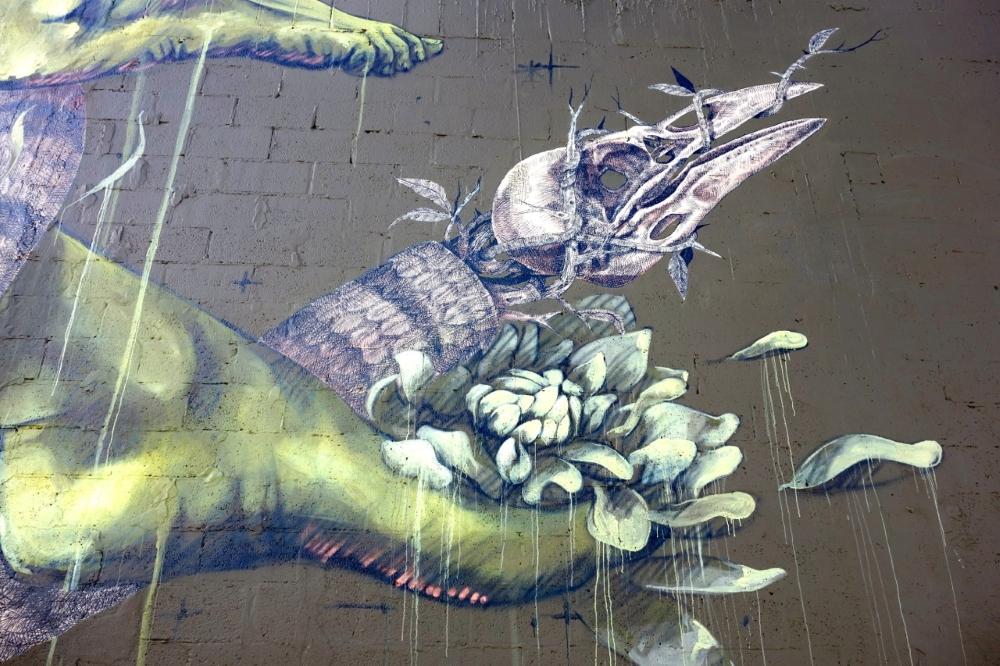 На фестивале уличного искусства