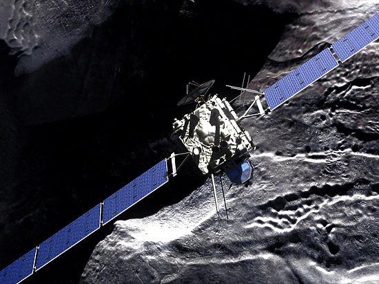 Космический аппарат «Розетта» вконце рабочей недели врежется вкомету