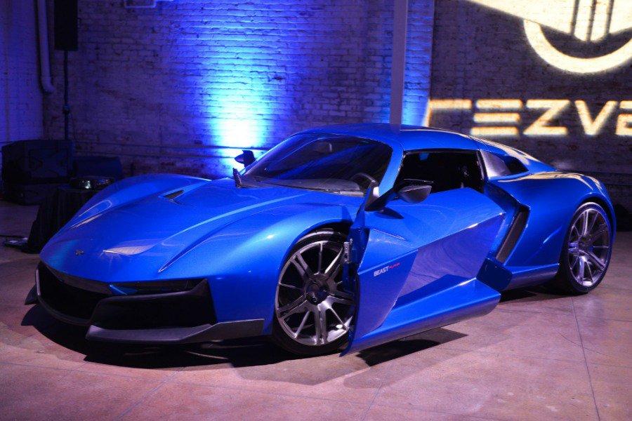 Летом Rezvani Motors представит новое купе стоимостью 100 тыс. долларов— Убийца Порше