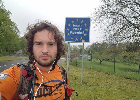 29-летний марафонец поборол 2600 километров отВолгограда доБерлина
