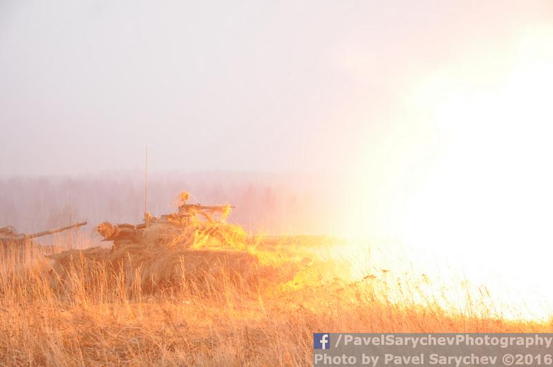 Бойцы Кантемировской дивизии проверили оборону