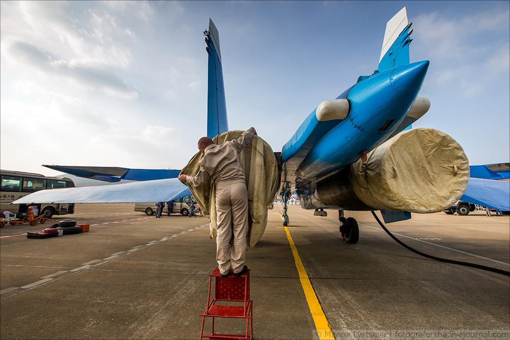 Русские витязи и Стрижи на China Airshow 2016